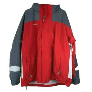 Columbia Jacket Men's XXL Interchange 2 in 1 Red